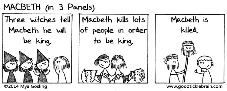 Three-Panel Plays, part 10 — Good Tickle Brain: A Mostly ...