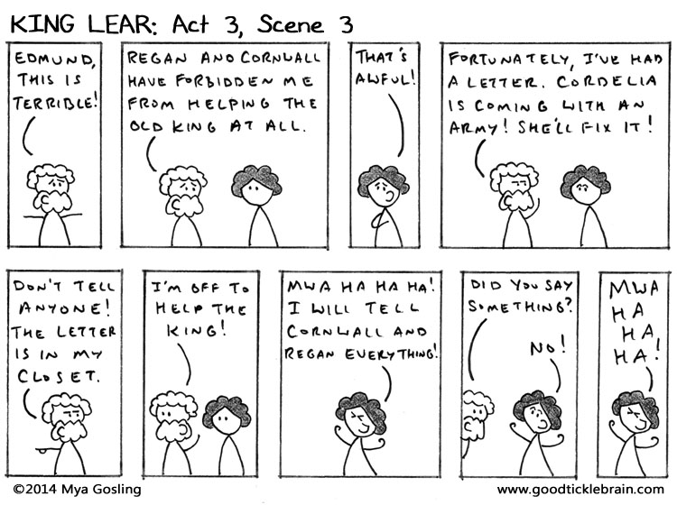 A Stick-Figure King Lear: Act 3, Scene 3 — Good Tickle ...