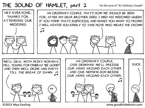 The Sound of Hamlet, part 1 shakespeare news The Shakespeare Standard theshakespearestandard.com shakespeare plays list play shakespeare