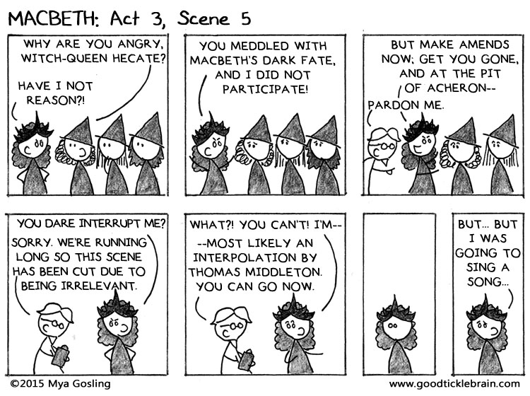 What are factors that lead to Macbeth's downfall?