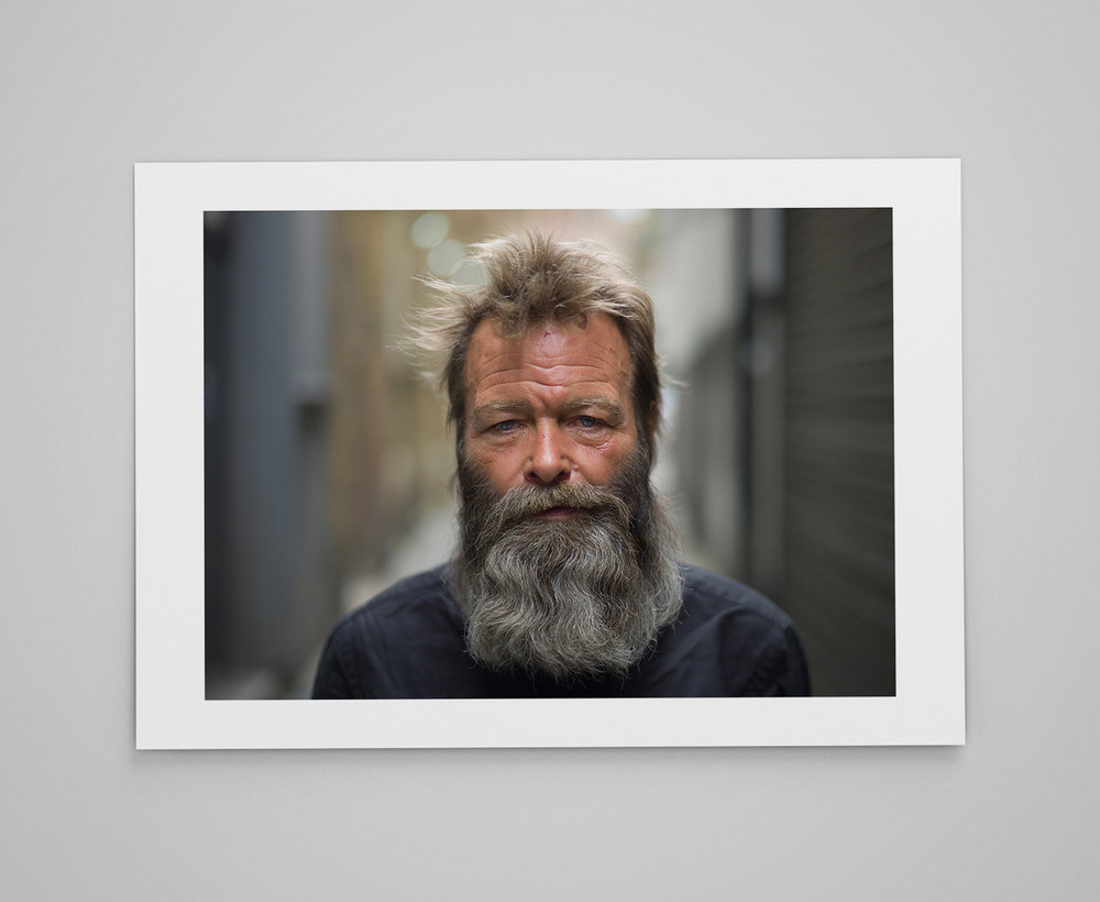 Francis  Limited edition print 1/50 C-type semi-matt print on Fujifilm archival paper Signed on reverse 50x70cm - £150.00