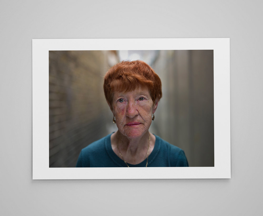 Ann  Limited edition print 1/50 C-type semi-matt print on Fujifilm archival paper Signed on reverse 50x70cm - £150.00