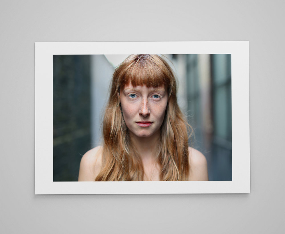 Phoebe  Limited edition print 1/50 C-type semi-matt print on Fujifilm archival paper Signed on reverse 50x70cm - £150.000