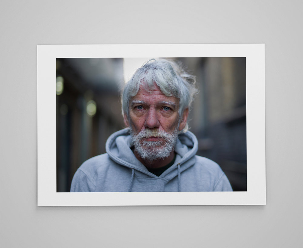 Warren  Limited edition print 1/50 C-type semi-matt print on Fujifilm archival paper Signed on reverse 50x70cm - £150.00