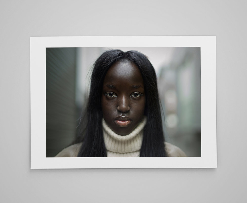 Nyaueth  Limited edition print 1/50 C-type semi-matt print on Fujifilm archival paper Signed on reverse 50x70cm - £150.00
