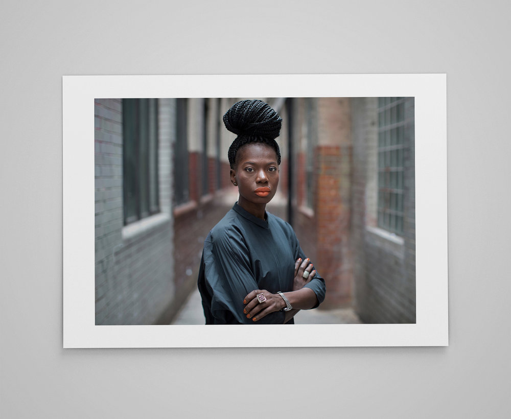 Silvana   Limited edition print 1/50 C-type semi-matt print on Fujifilm archival paper Signed on reverse 50x70cm - £150.00
