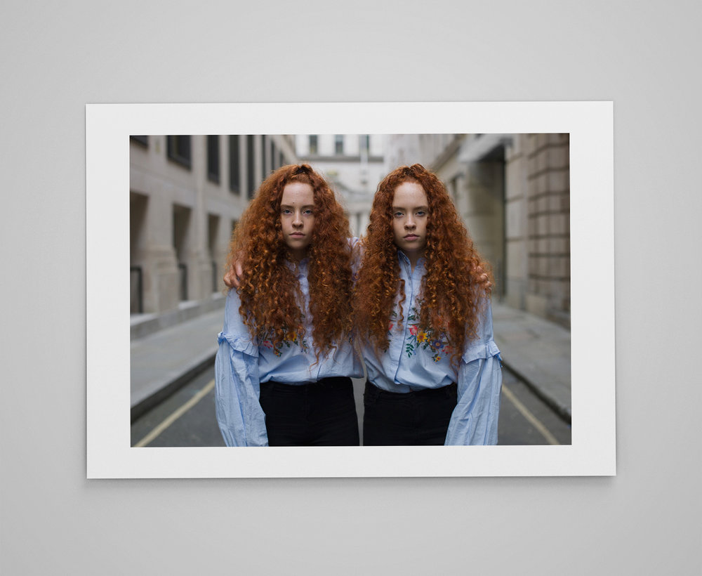 Taya and Kira   Limited edition print 1/50 C-type semi-matt print on Fujifilm archival paper Signed on reverse 50x70cm - £150.00