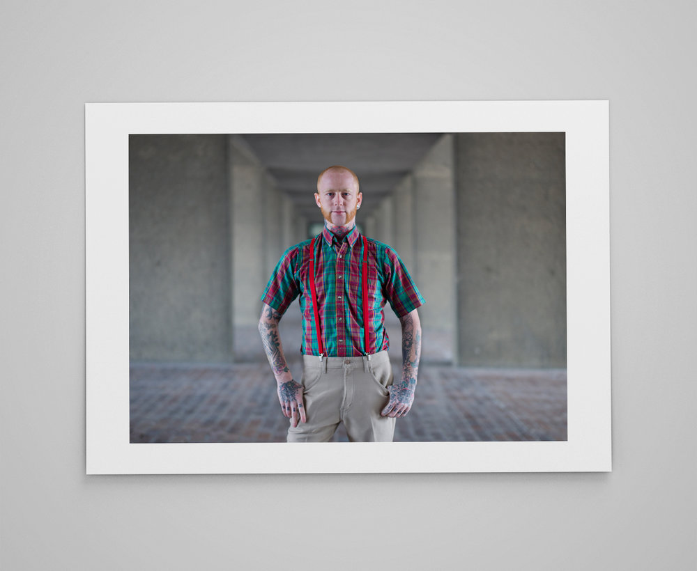 Luke  Limited edition print 1/50 C-type semi-matt print on Fujifilm archival paper Signed on reverse 50x70cm - £150.00