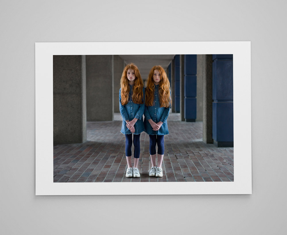 Chloe and Leah  Limited edition print 1/50 C-type semi-matt print on Fujifilm archival paper Signed on reverse 50x70cm - £150.00