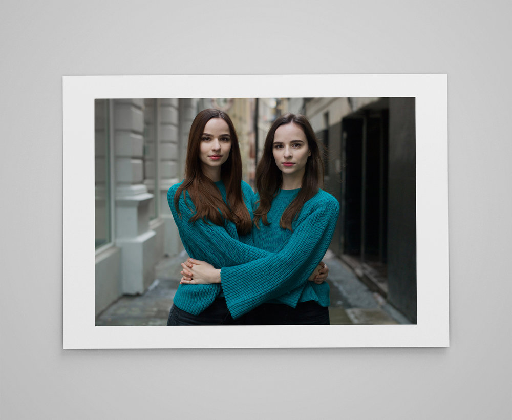 Vår   and Ronja  Limited edition print 1/50 C-type semi-matt print on Fujifilm archival paper Signed on reverse 50x70cm - £150.00