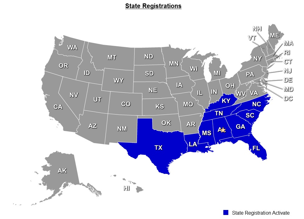 STATE REGISTRATIONS