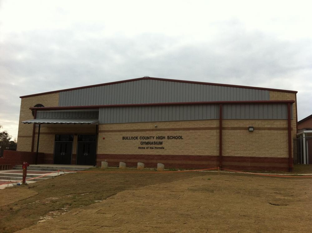 Bullock County High School Gym Borden Morris Garner
