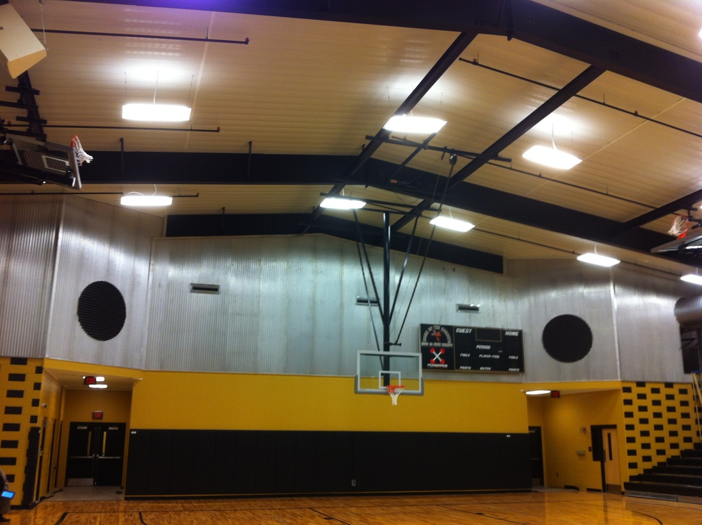 Bullock County High School - Gym Union Springs, AL