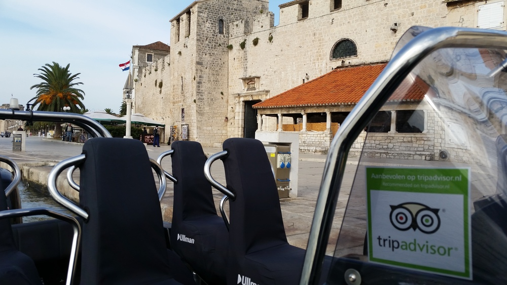 Trogir riva parking