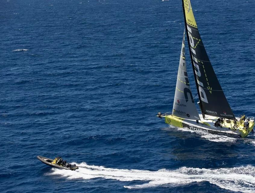 Roughneck 808 in the Volvo ocean race, Team Brunel