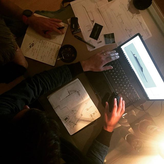 Design in progress with complete team of #yachtdesigncollective and #waterworldcroatia.. Wonderful way to create a unique line of boats.. #bycorthinx #waterworldyachts #design #croatia #split #boatbuilding #excited #corthinx