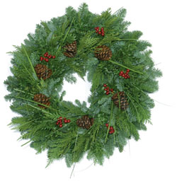 Mountain Grandeur Wreath