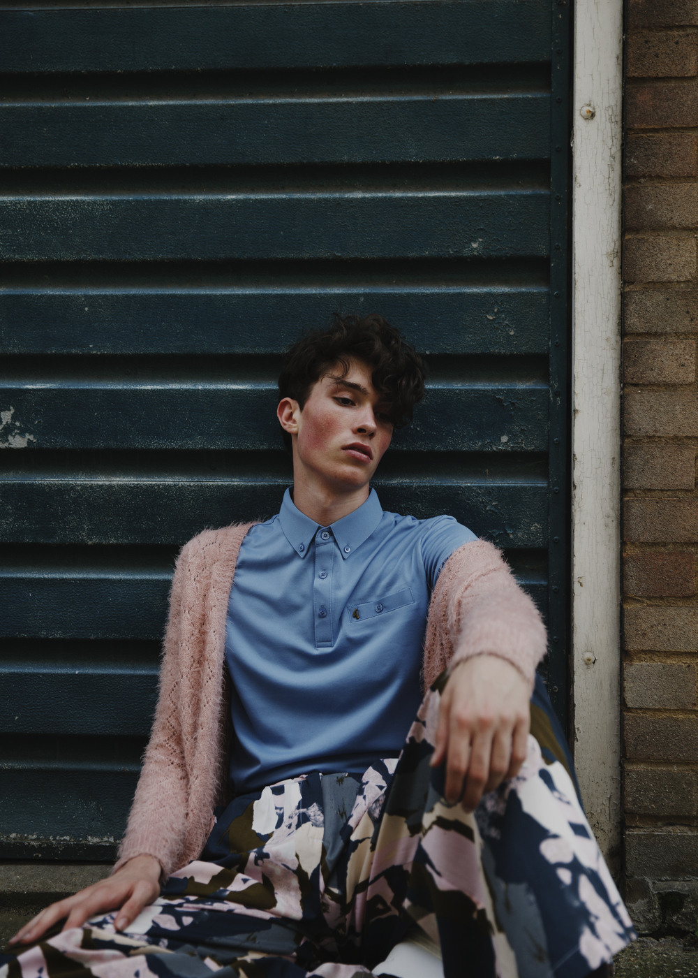 Cardigan by Bellfield / Shirt by Gabicci / Trousers by Native Youth