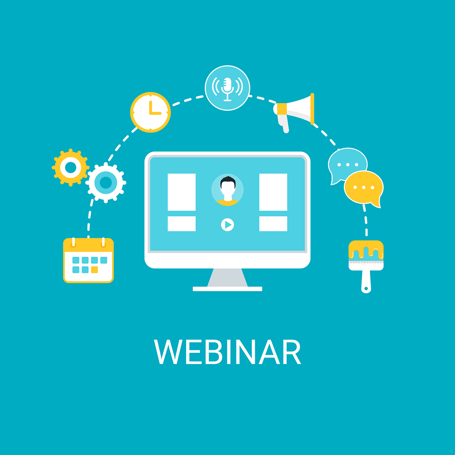 Webinars...if you want more out of them, put more into them