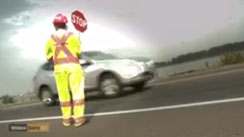 Traffic Control Person PSA   (2012)  WorkSafeBC DP, Editor