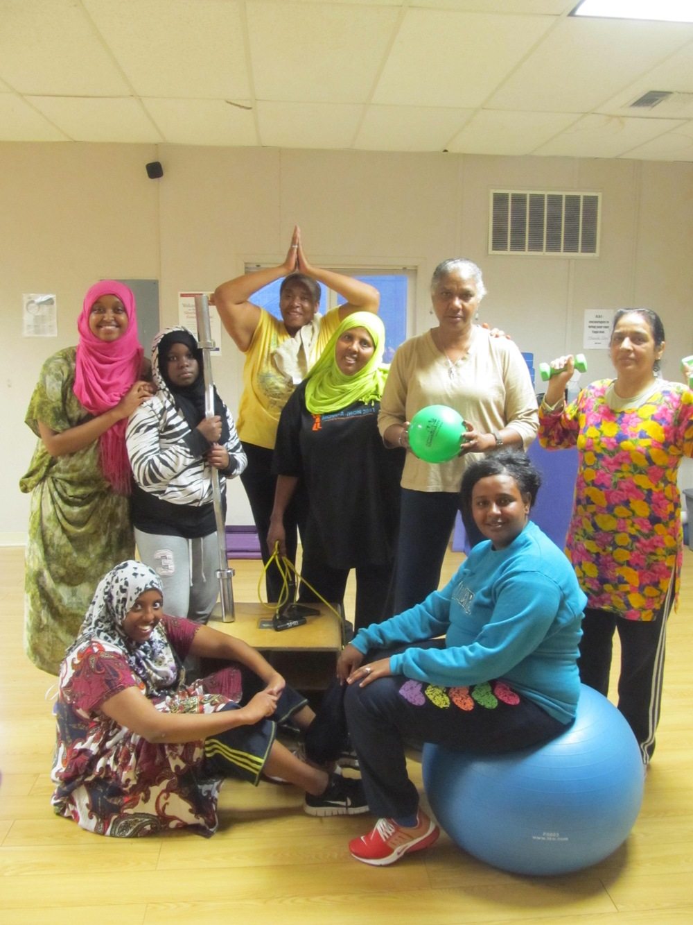 """Safe environment for all ladies, fitness levels, ages, ethnicity etc. to  come and get in shape and have fun,"" Member, age 25"