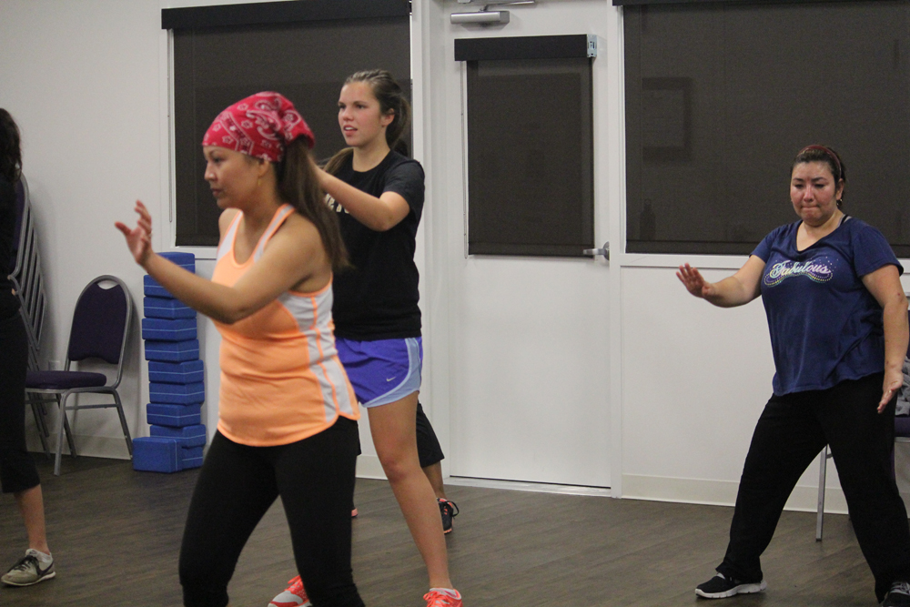 """It's safe to Zumba without feeling embarrassed,"" Member, age 22"
