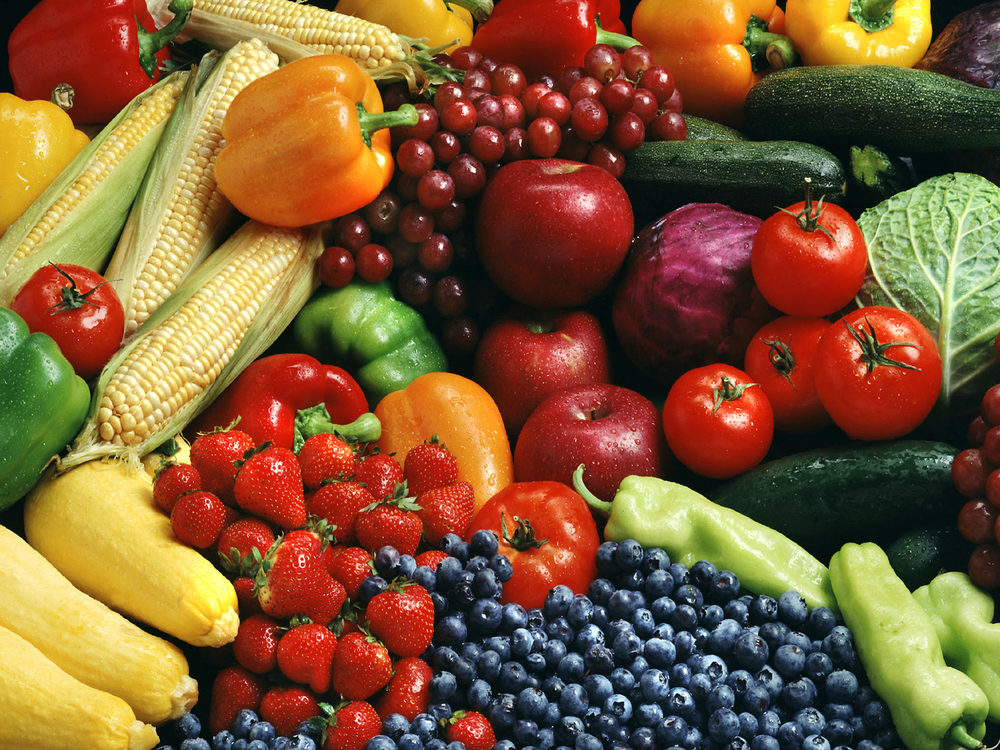 whole grain of fruits & vegetables