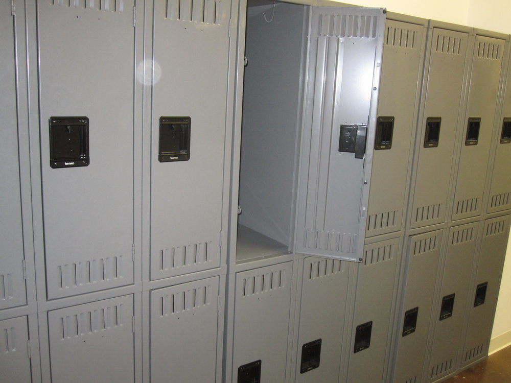 Available Locker Space - Find an empty locker to stash your gear in while you work out. Bring your own lock or purchase one at our front desk.