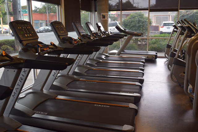 Treadmills - Get in your cardio regardless of the weather by running a few laps on one of our MATRIX treadmills. Or alternate over to an elliptical, stair stepper or rowing machine.