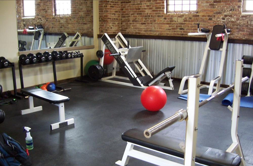 Original RHF gym.