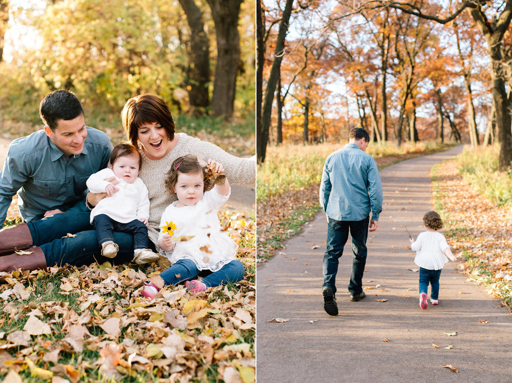 www.allisonhopperstad.com, Fall Family Session, Minnesota Family Photographer, Candid Family Photographs, Lifestyle Family Photographer, Long Lake Regional Park Photography, Family of Four