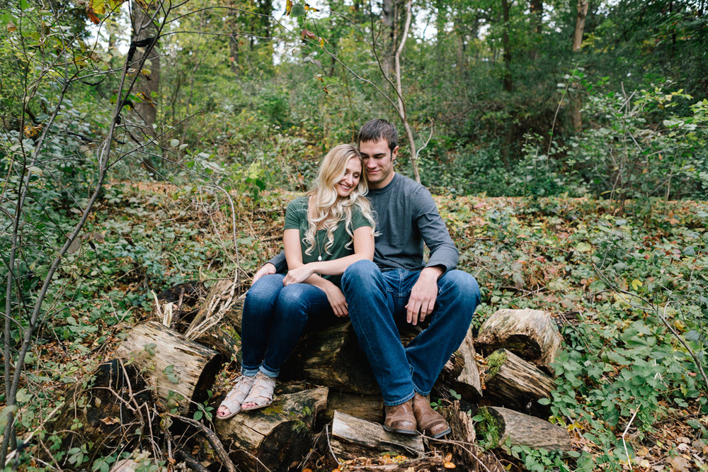 www.allisonhopperstad.com, Fall Engagement Session, Minnesota Wedding Photographer, Minneapolis Engagement Session, Theodore Wirth Park, Engagement in the woods, Fishing Engagement Session