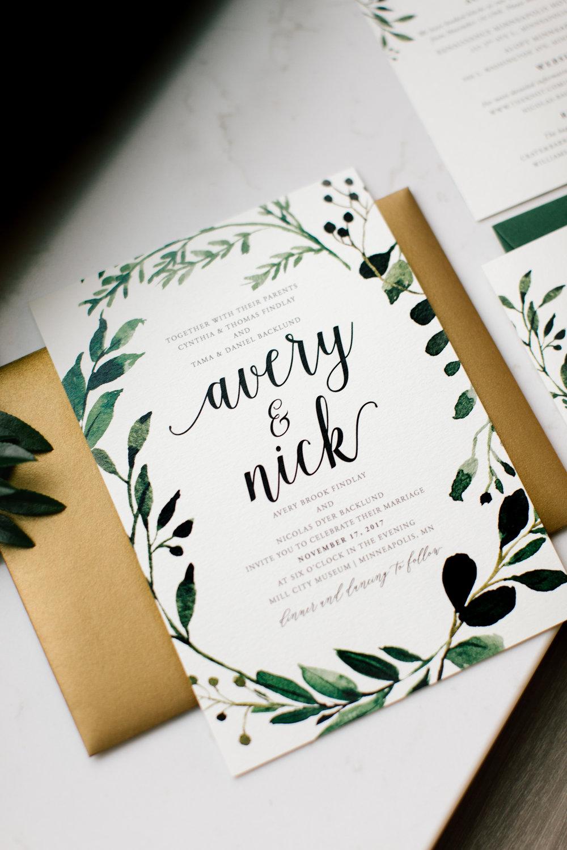 Stationery Design — Allison Hopperstad Photography | Minnesota ...
