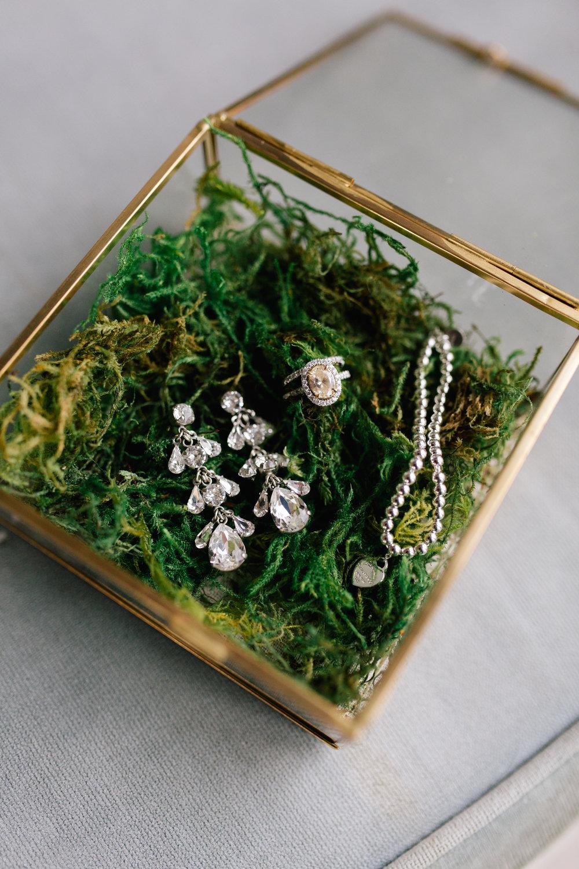 Glass Ring Box  Size:NA Quantity: 1 Rental: $10