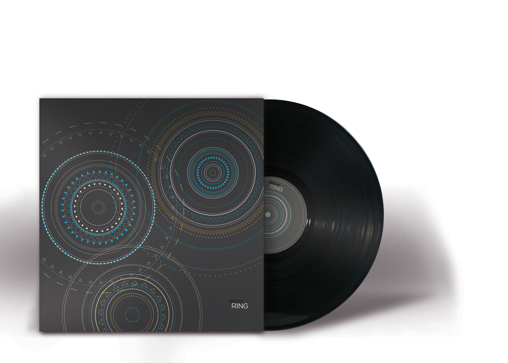 12 inch album uses a different pattern format, focused on the intricate line work