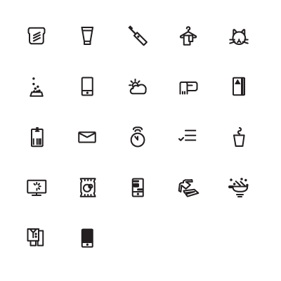 teeny icons