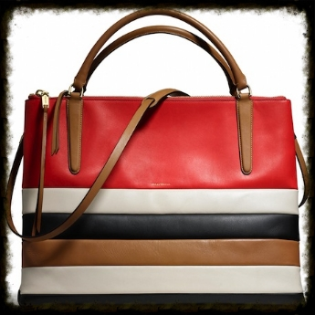Coach bag in the colors of the season at  Coach