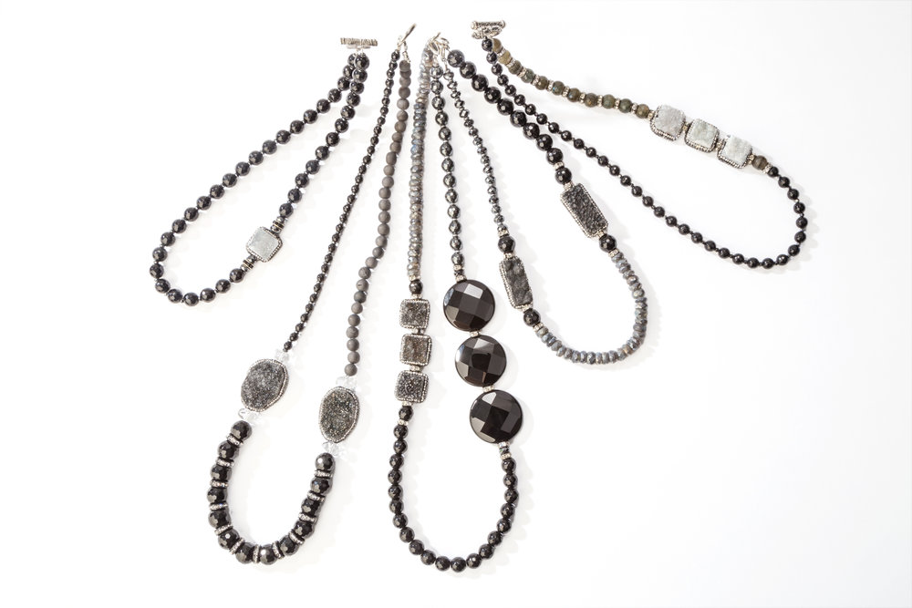 black jewelry  - collection