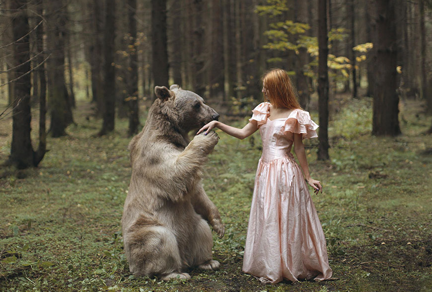 katerina-plotnikova stunning images with the help of real live animals