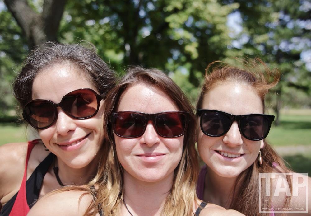 Reka, me and Anna