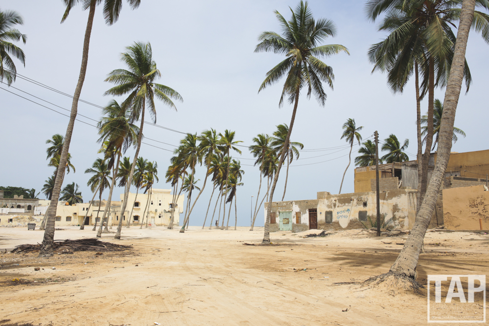 The Khareef season brings tourists from all over the Arabian Gulf seeking cooler temperatures in Summer. Salalah in Southern Oman becomes much like a ghost town between November and June. This is just one of the older sectors on the coast which has many young men living in abandoned houses.