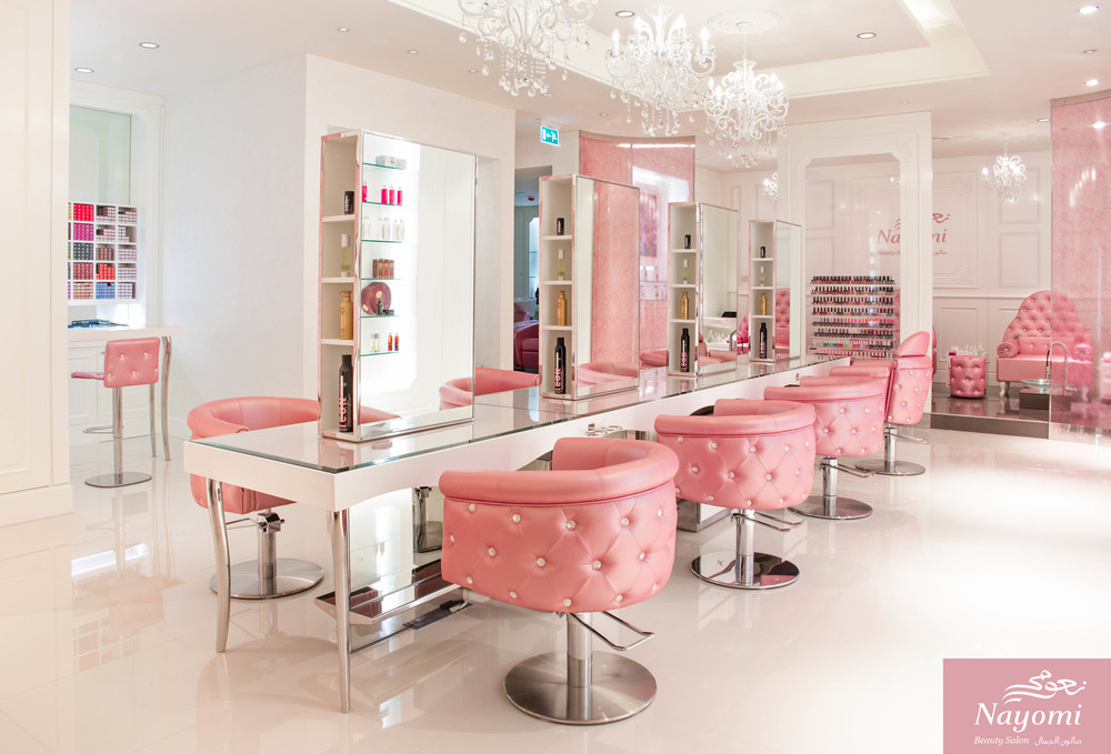 Interior shoot for Nayomi Salon in Ajman.