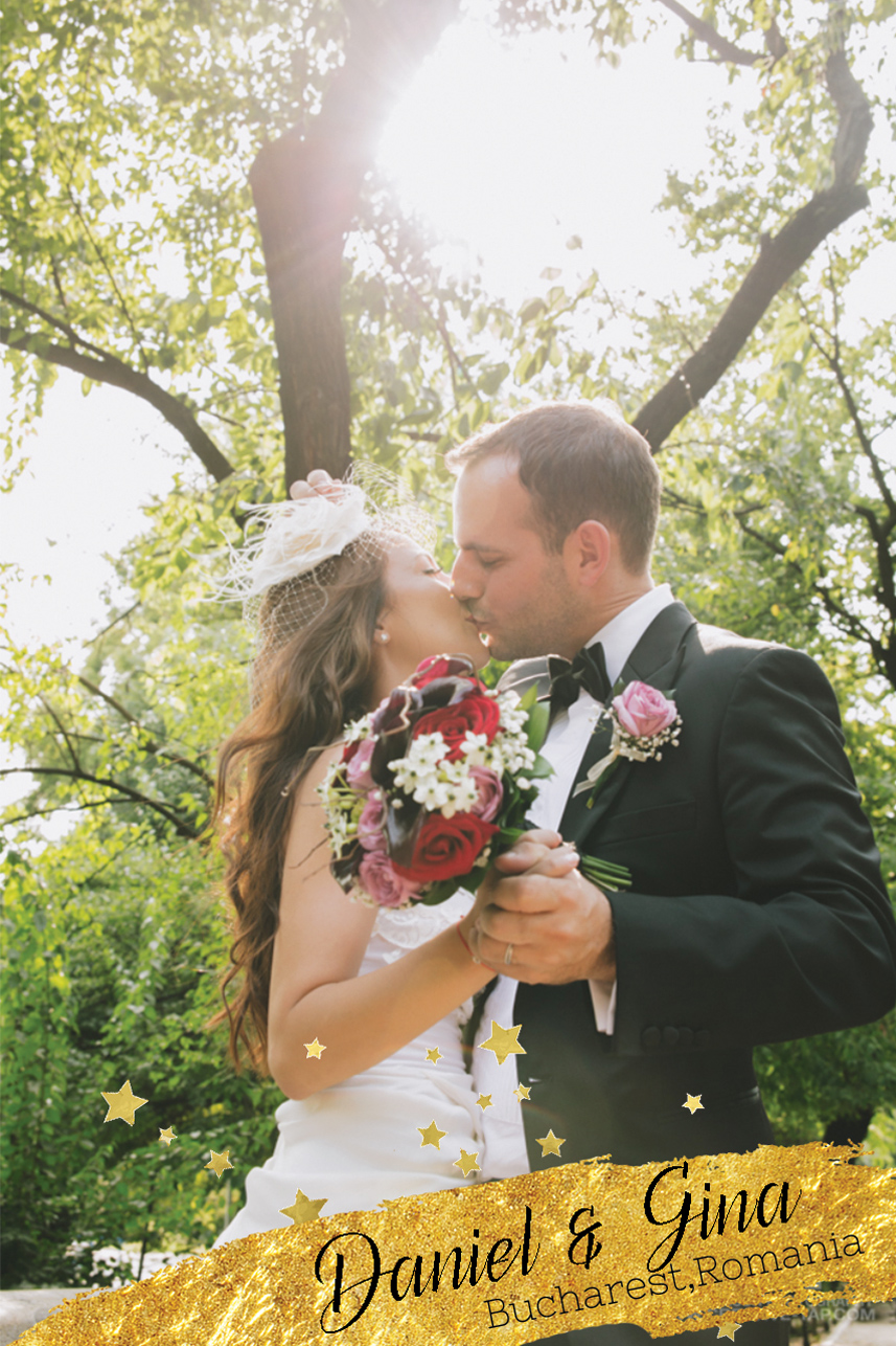 Daniel and Gina's destination wedding in Bucharest, Romania.
