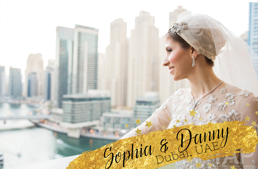 Sofia and Danny's destination wedding in Dubai, UAE