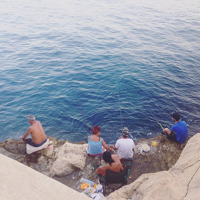 A typical family outing in Valletta #Malta. #familygoals