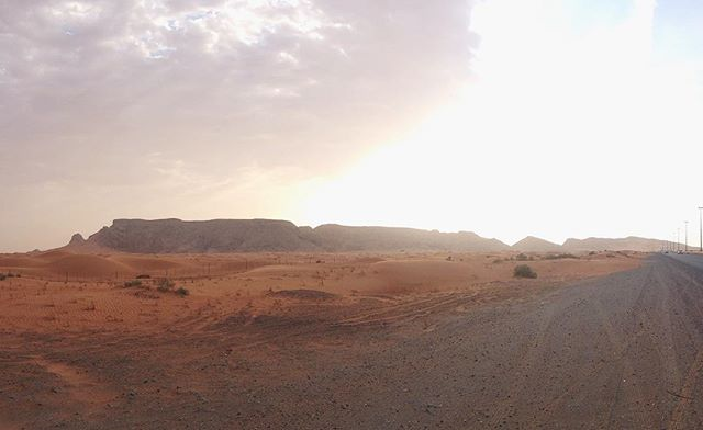 Nice to be home. #thethingaboutlife #fossilrock #uae