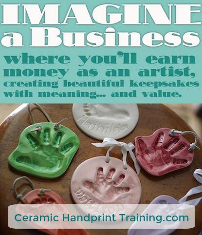 Ceramic Handprint Business Training Online Program