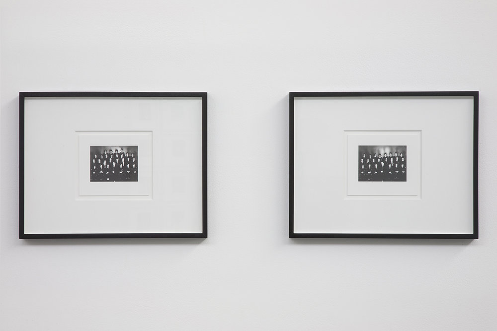 Series 2012, pencil on card, installation view detail