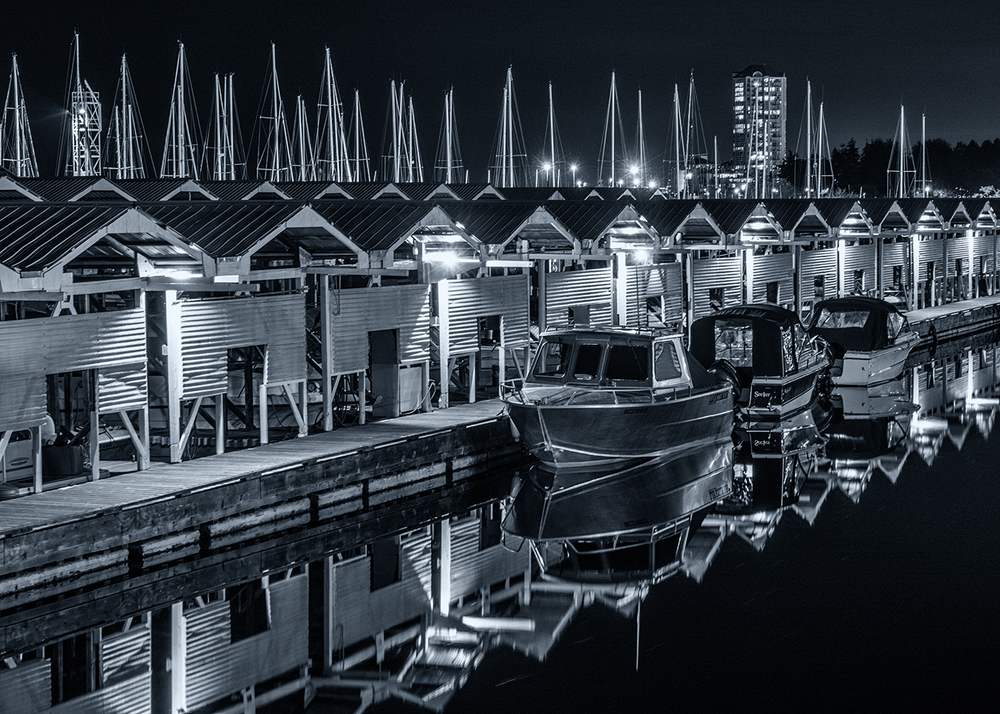 Nanaimo At Night