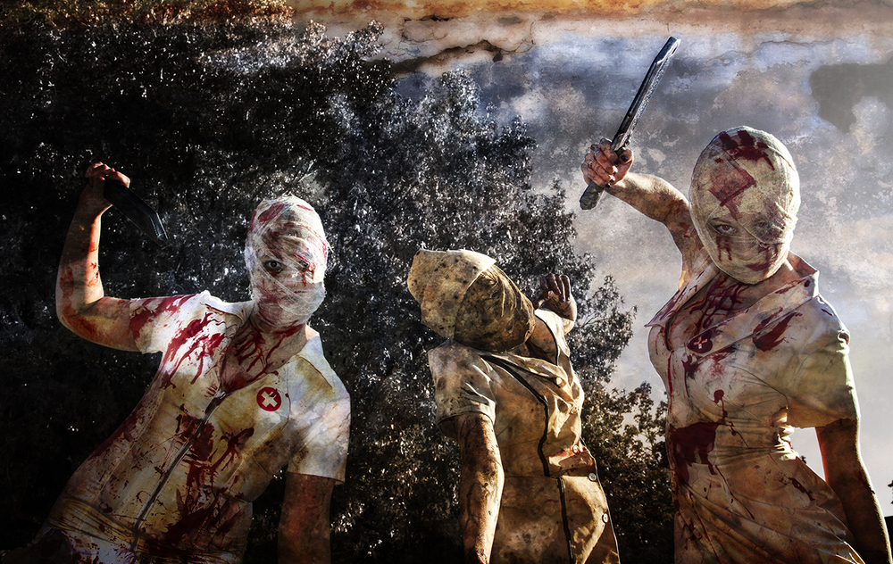 Homicidal Nurses From Silent Hill
